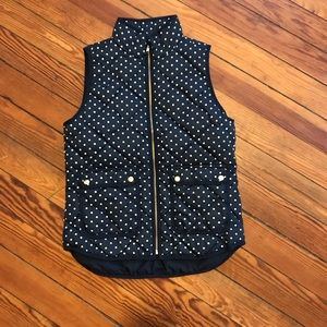 JCREW Quilted puffer vest